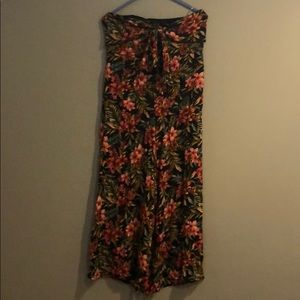 Flowered Jumpsuit with tags